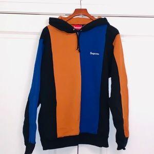 Supreme Tricolor Hoodie, XL
